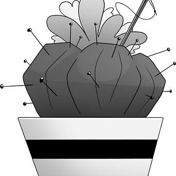 Inktober: Prickly by Jotheastronaut