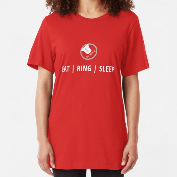 Bell Ringing - EAT | RING | SLEEP Slim Fit T-Shirt