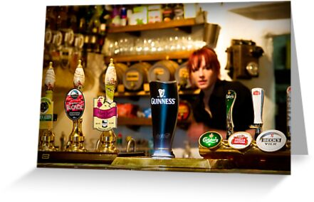 Guinness is good for you by Kurt  Tutschek