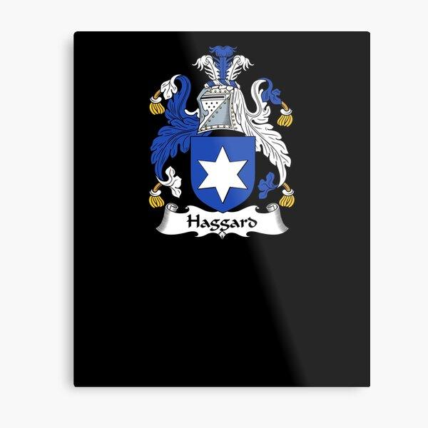 Haggard Coat of Arms - Family Crest Shirt Metal Print