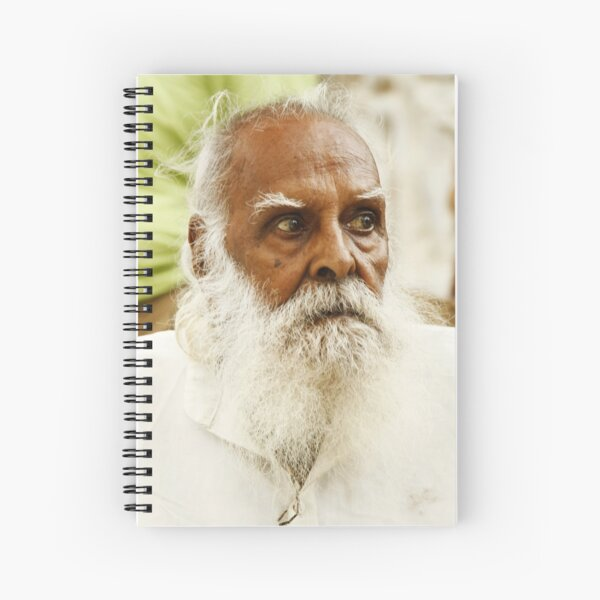 Old Furious, India Spiral Notebook