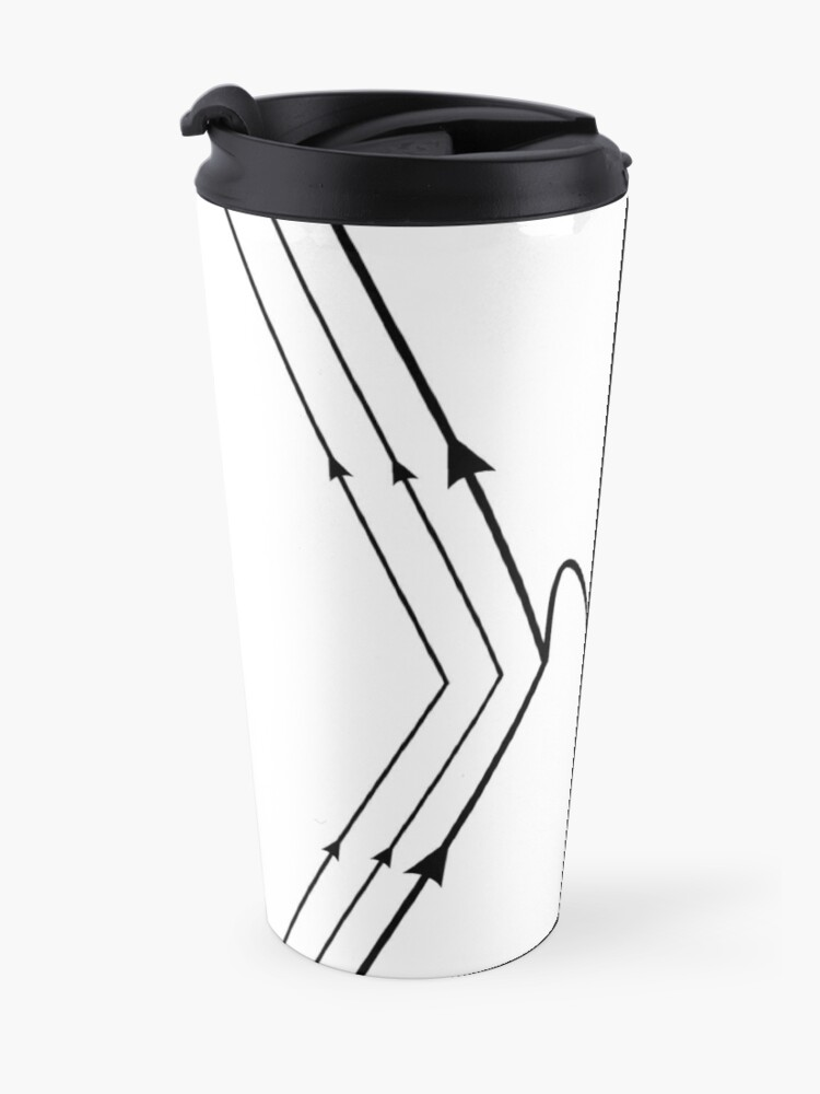 Alternate view of Muon Decay Feynman Diagram- Particle Physics  Travel Mug