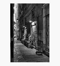 Alley Genoa 2 Photographic Print
