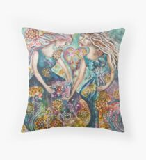 The Gift by Cheryle Bannon Throw Pillow