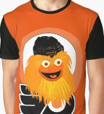 The head of mascot Gritty the Flyers Graphic T-Shirt