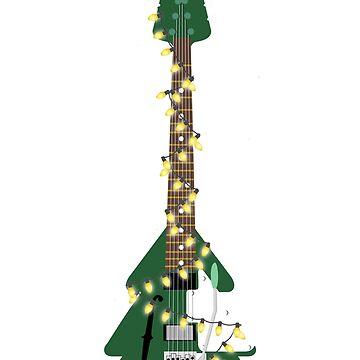 Christmas Guitar by kcgfx