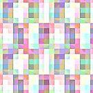 « Carrées paintes - pastels » par Hippopottermiss