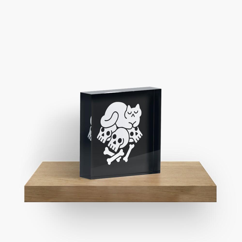 Catnap Acrylic Block