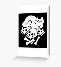 Catnap Greeting Card