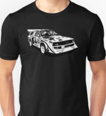 Audi Quattro Group B replica Unisex T-Shirt