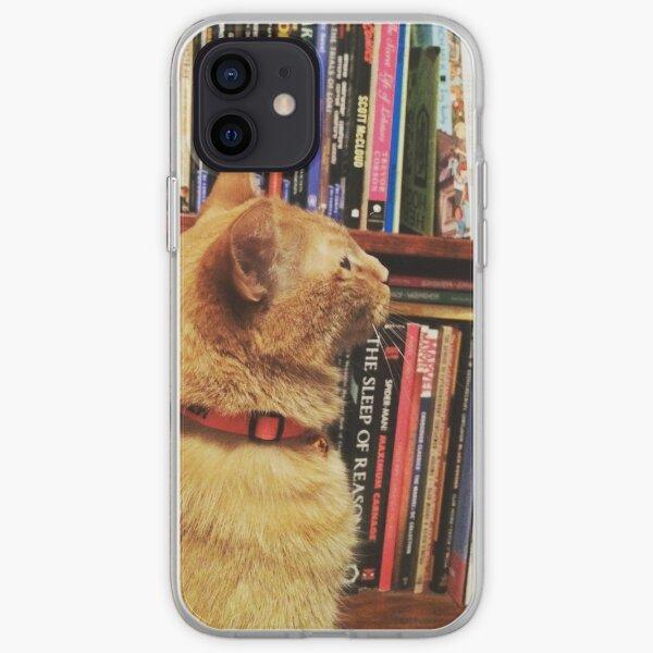 Book Cat iPhone Soft Case