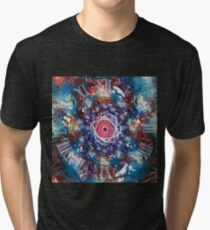 Space, time and atom Tri-blend T-Shirt