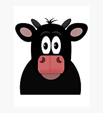 Mrs Cow Photographic Print