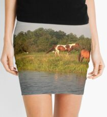 Chincoteague Ponies Mini Skirt