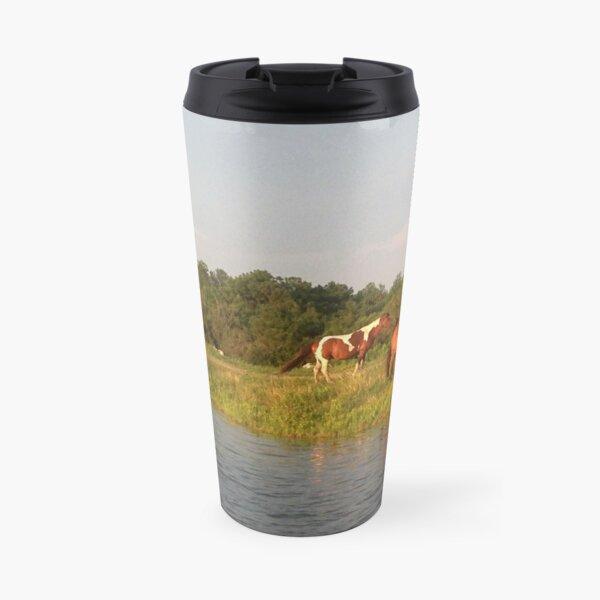 Chincoteague Ponies Travel Mug