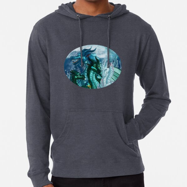 Wings of Fire - Royal SeaWings - Auklet, Tsunami, Turtle, Anemone Lightweight Hoodie