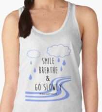 Smile, Breathe, and Go Slowly Women's Tank Top