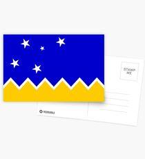 Flag of Chilean Antarctic Territory  Postcards