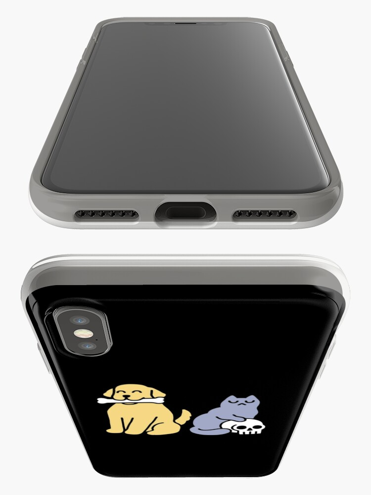 Alternate view of Good Dog Bad Cat iPhone Case & Cover