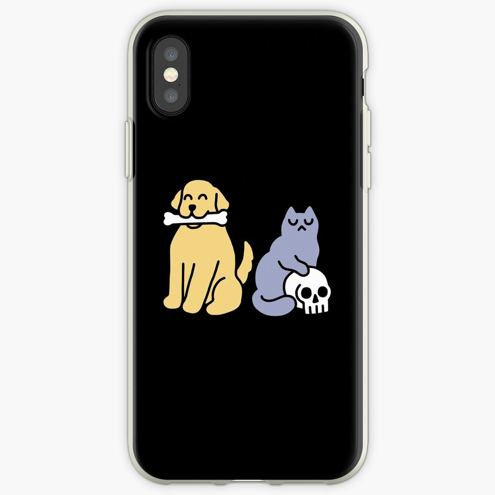 Good Dog Bad Cat iPhone Case & Cover