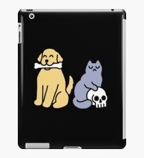 Good Dog Bad Cat iPad Case/Skin