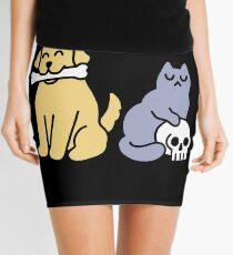 Good Dog Bad Cat Mini Skirt