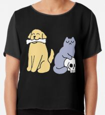 Good Dog Bad Cat Chiffon Top