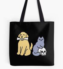 Good Dog Bad Cat Tote Bag