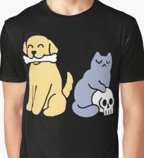 Good Dog Bad Cat Graphic T-Shirt