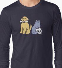 Good Dog Bad Cat Long Sleeve T-Shirt