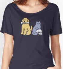 Good Dog Bad Cat Relaxed Fit T-Shirt