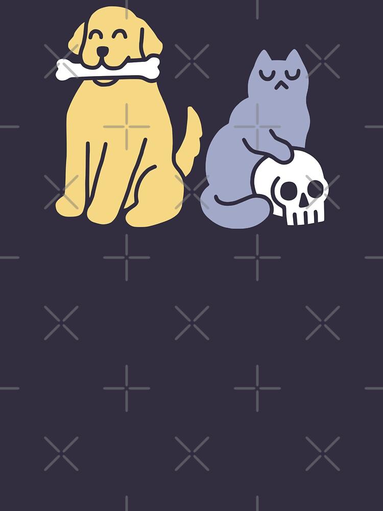 Good Dog Bad Cat by obinsun