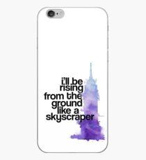like a skyscraper watercolor iPhone Case