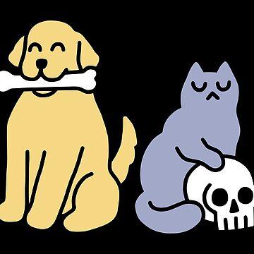 Buen perro malo gato de obinsun