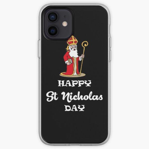 Happy St Nicholas Day iPhone Soft Case