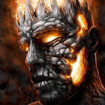 Magma King by tattooedtheory