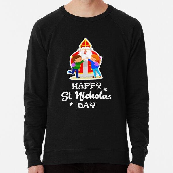 Happy St Nicholas Day Lightweight Sweatshirt