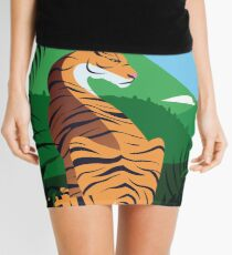 Tropical tiger Mini Skirt