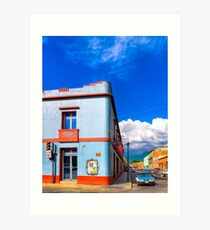 Art Deco On The Streets Of Oaxaca Mexico Art Print