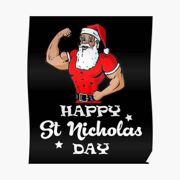 Happy St Nicholas Day Poster