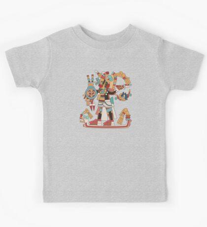 Aztec Warrior [Vector] Kids Clothes