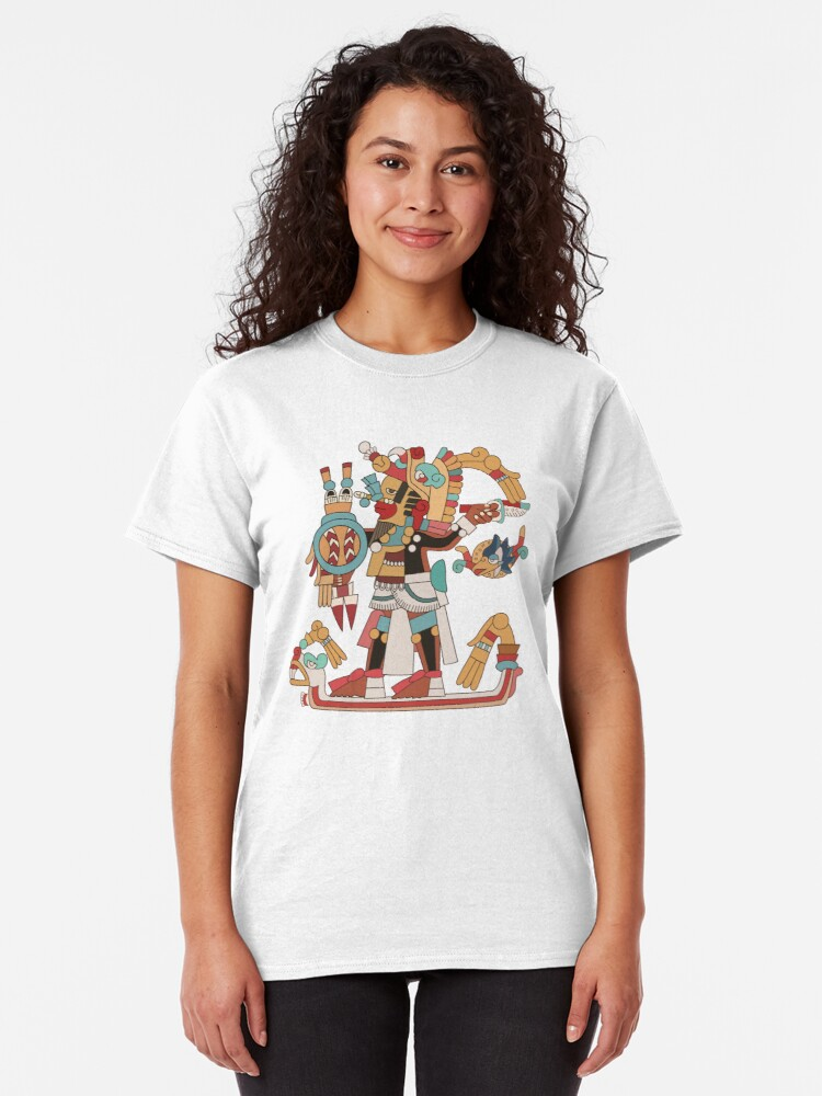 Alternate view of Aztec Warrior [Vector] Classic T-Shirt