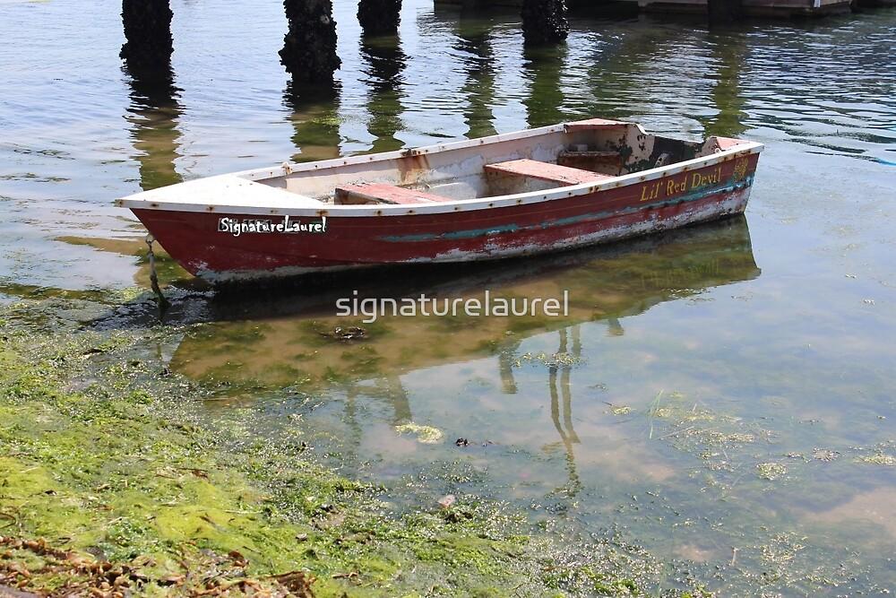 Little Red Boat by signaturelaurel