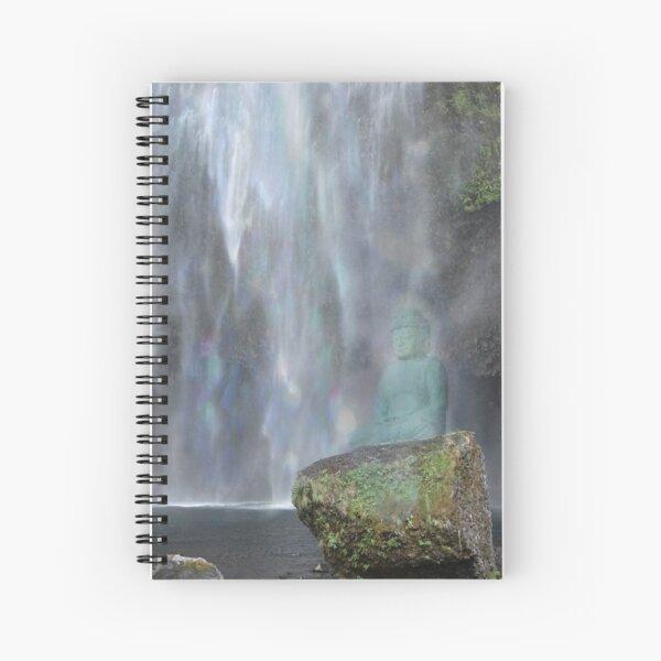 Meditation Rock Spiral Notebook