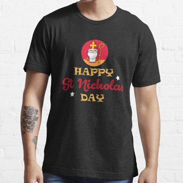 Happy St Nicholas Day Essential T-Shirt