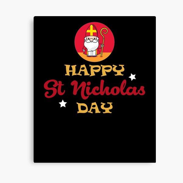 Happy St Nicholas Day Canvas Print