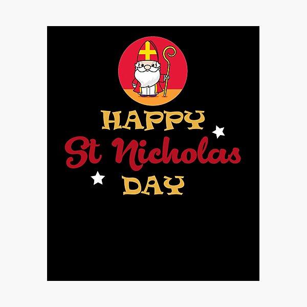 Happy St Nicholas Day Photographic Print