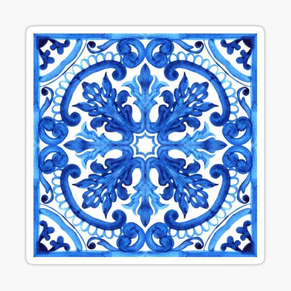 Portuguese azulejo tiles. Gorgeous patterns. Sticker