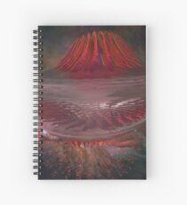Exploded Nanotubes Spiral Notebook