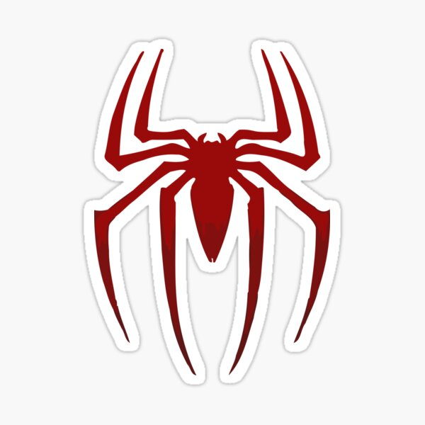 Spider Logo Sticker